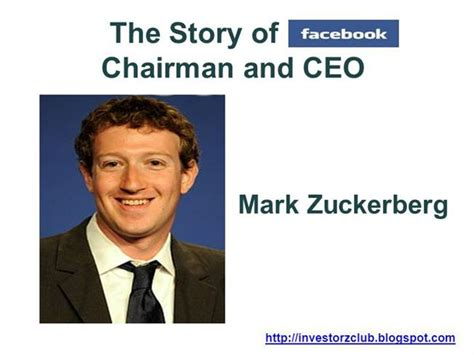 mark zuckerberg biography free download mark zuckerberg of facebook authorstream