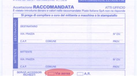 ufficio sta sky come fare una raccomandata in italia e all estero