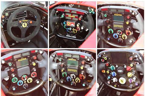 volanti f1 il volante di formula 1 quello 1993 a confronto con l