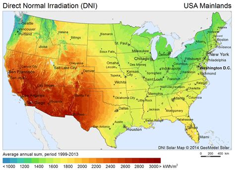 solar radiation map usa free solar resource maps solargis