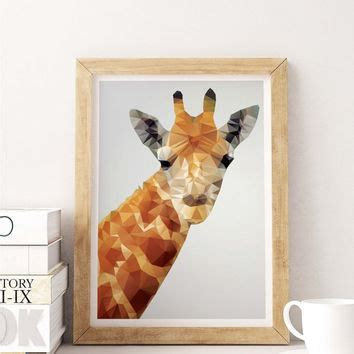 shop giraffe print home decor on wanelo