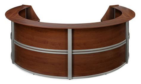 Oval Reception Desk 1000 Ideas About Office Reception Desks On Reception Desks Salon Reception Desk
