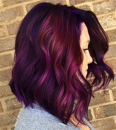 mens magenda colored hair best hairstyles for magenta hair color 2017 haircuts