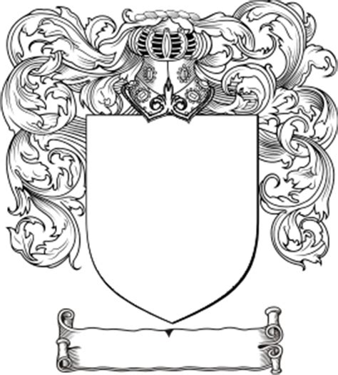 Free Coat Of Arms Template Crest Design Template