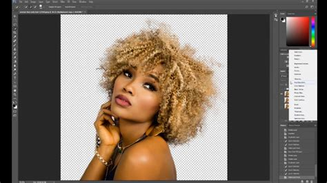 photoshop cs3 refine edge tutorial photoshop refine edge tutorial photoshop cc 2017 youtube