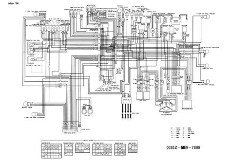 1983 honda vt750 wiring diagram wiring diagram with