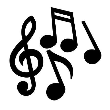 clipart musica best 25 notes ideas on musica