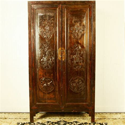 tall armoire furniture antique chinese 43 quot wide 79 quot tall armoire wedding wardrobe