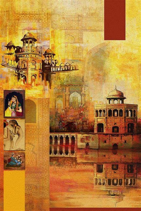 painting the mughal painting by catf