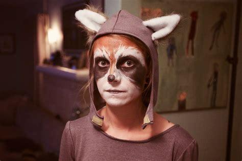 raccoon costume cute delicious