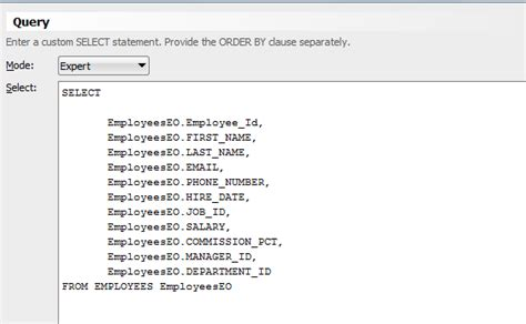 invalid name pattern sql exception jbo 27022 failed to load value at index n java sql