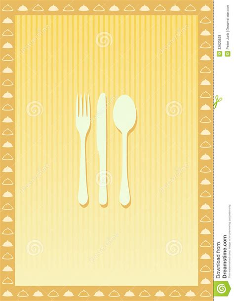 photos menu card design template restaurant menu card design template royalty free stock