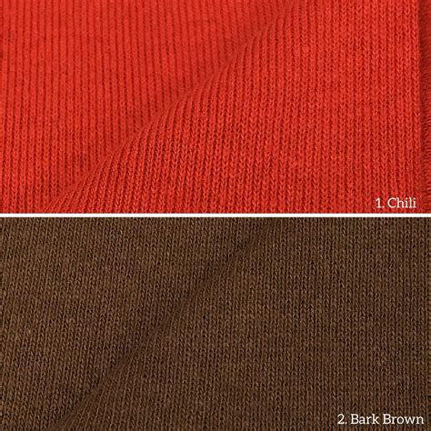 wholesale knit fabric 100 cotton 1x1 rib knit fabric wholesale price available by