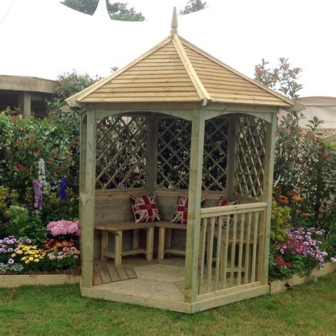 small gazebo for patio m m timber small wooden gazebo gardener