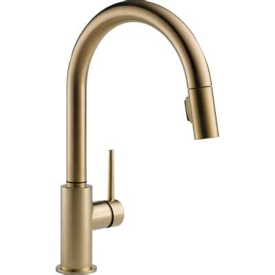 Delta 4 Hole Kitchen Faucet by Delta Trinsic Single Handle Pull Down Sprayer Kitchen