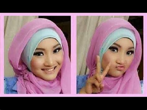 tutorial pashmina ala fatin tutorial hijab pashmina ala fatin shidqia 1 youtube