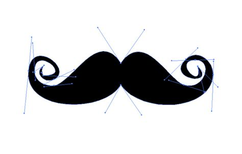 How To Make A Paper Moustache - mustache graphic clipart best