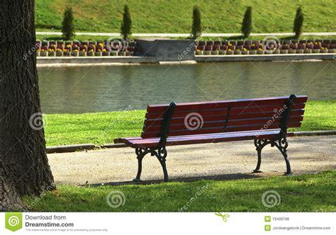 bench scene bench in park royalty free stock image image 19406196