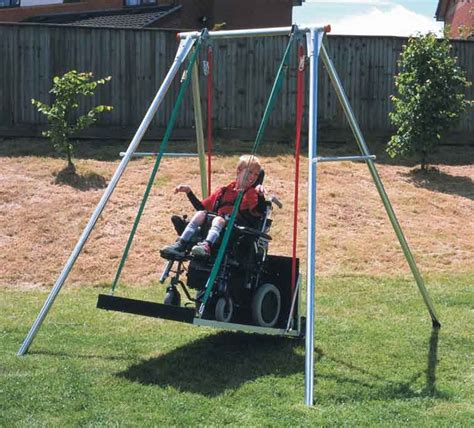 handicapped swings fundraiser by ingrid kidd naomi s wheelchair adapted swing