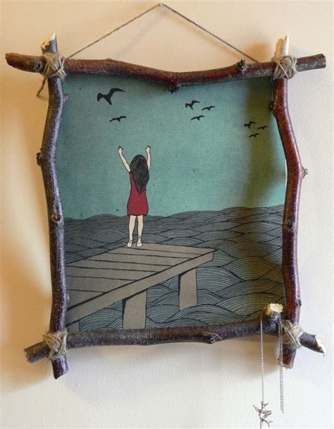 Photo Frames Handmade Ideas - 14 photo frame ideas a craft in your daya