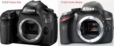 camara reflex o digital la c 225 mara r 233 flex digital o d slr