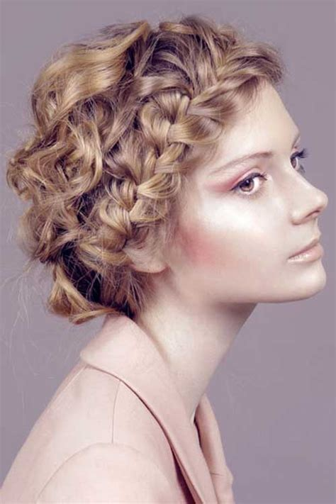 Easy Hairstyles For Curly Hair by 15 Easy Hairstyles For Curly Hair Hairstyles