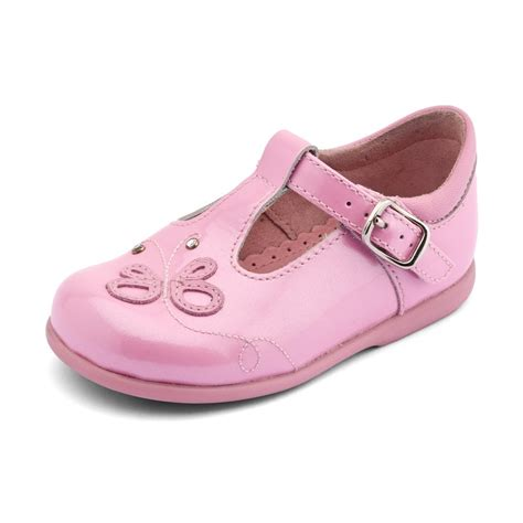 pixie s pink patent walking shoe