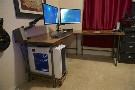 wars desk l pipe l desk album on imgur idea for cafe tables