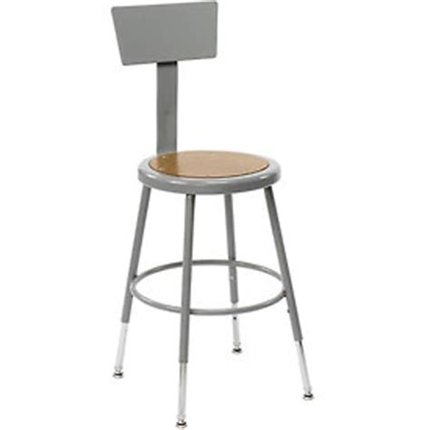 Shop Stools With Backs by Stools Steel Wood Shop Stool With Back And Hardboard