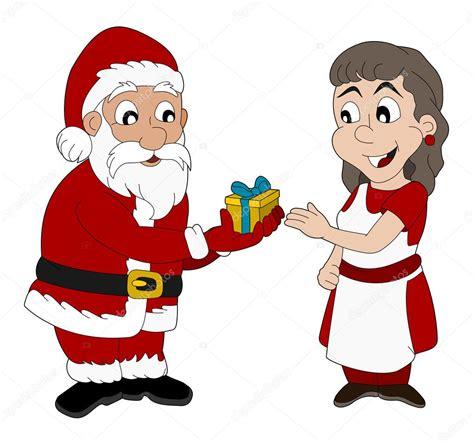 imagenes de santa claus y mama claus dibujos animados de santa claus y se 241 ora claus archivo