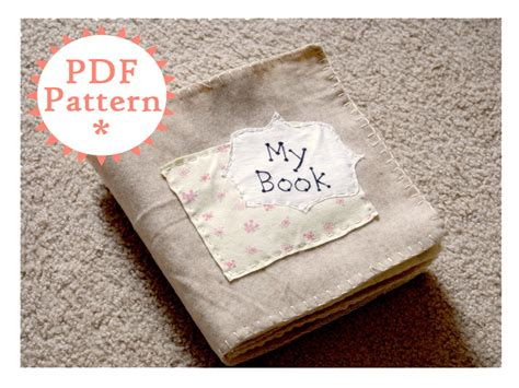the quiet book pattern quiet book printable pdf pattern with instructions instant