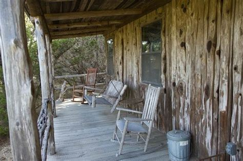 Wimberley Bed And Breakfast Cabins by Cabin Porch With Swing Seat Picture Of