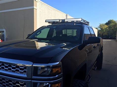 Chevy Silverado Roof Rack by Our Work Integrity Customs