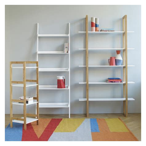 loki white 5 shelf bookcase buy now at habitat uk