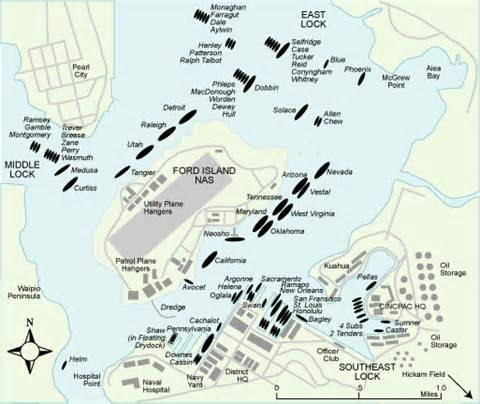 Ford Island Map Pearl Harbor An Alternate History Armchair General
