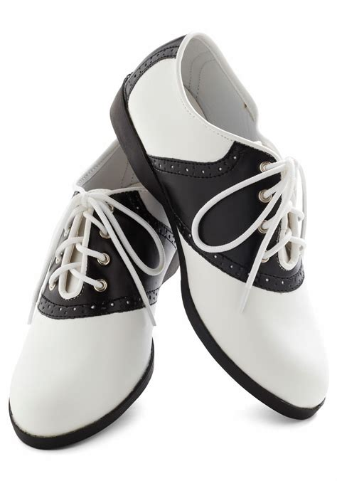 black and white school shoes diy paint your own saddle shoes couture