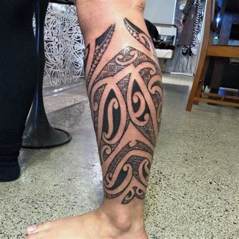 calf tattoo for men 50 calf tattoos for below the knee