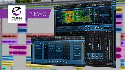 Blue Cat Audio Patchwork - blue cat audio launch mb 7 mixer v3 patchwork v2