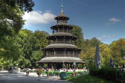 Chinesischer Turm Englischer Garten by Chinesischer Turm