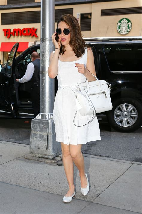 In Emmy Rossum And Hilary Duff by Emmy Rossum Out And About In New York City Celebzz