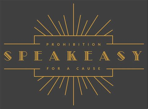 Design Room Online speakeasy prohibition for a cause east cooper