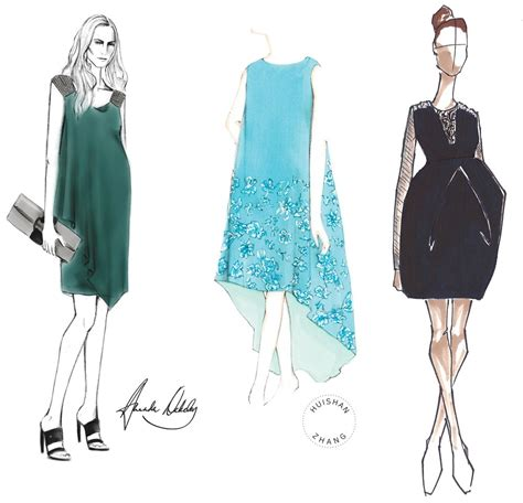 designer and luxury womens wear daily andrew gn kate middleton maternity dress sketch archives