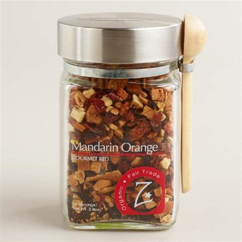 Orange Leaf Gift Card Value - zhena s gypsy tea mandarin orange loose leaf tea world market