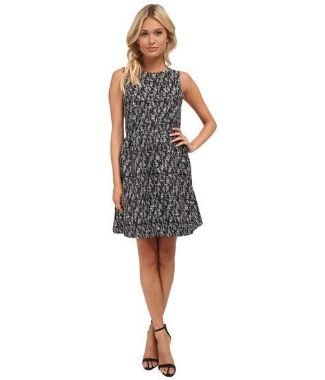 Dress Grey Ks lyst kensie abstract brocade dress ks8k7637 in gray