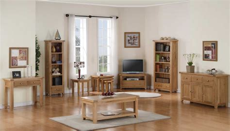 oak livingroom furniture rustic oak living room furniture with no veneers are used