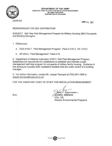 army memo for record doc pictures to pin on pinterest