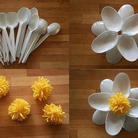 plastic spoon crafts plastic spoon creative crafts