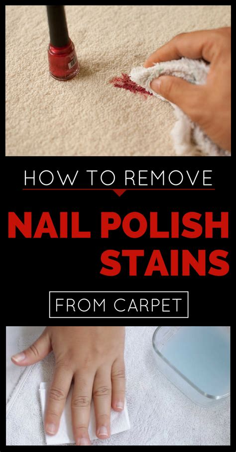 how to remove nail from a rug how to remove nail stains from carpet cleaning ideas