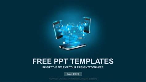 powerpoint templates for communication presentation communication mobile phone business powerpoint templates free
