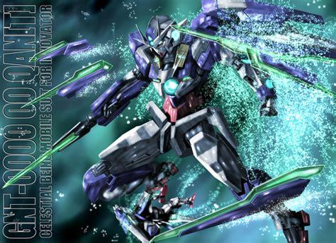 Gundam Qant V2 ダブルオークアンタ わたのれ さんのイラスト ニコニコ静画 イラスト